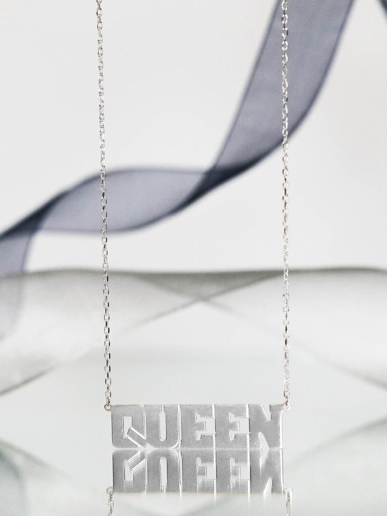 QUEEN Personalized Necklaces