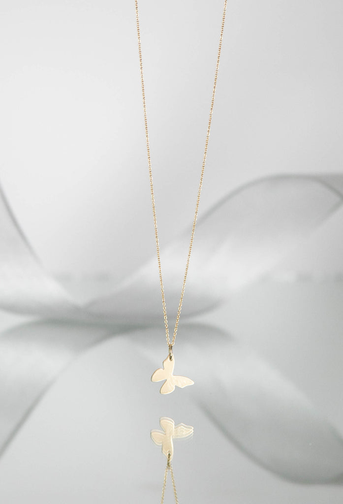 TALIA Butterfly Charm Necklace