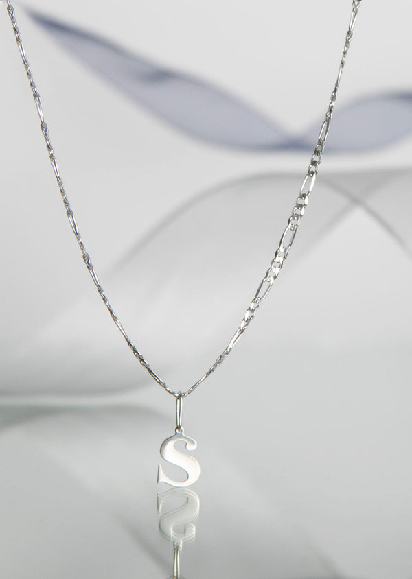 S - Initial Necklace