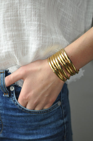 wrapped cuff - Short