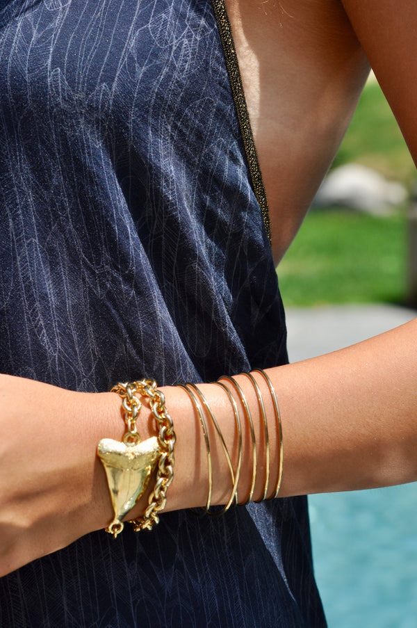 STEVIE stacked cuff bracelet