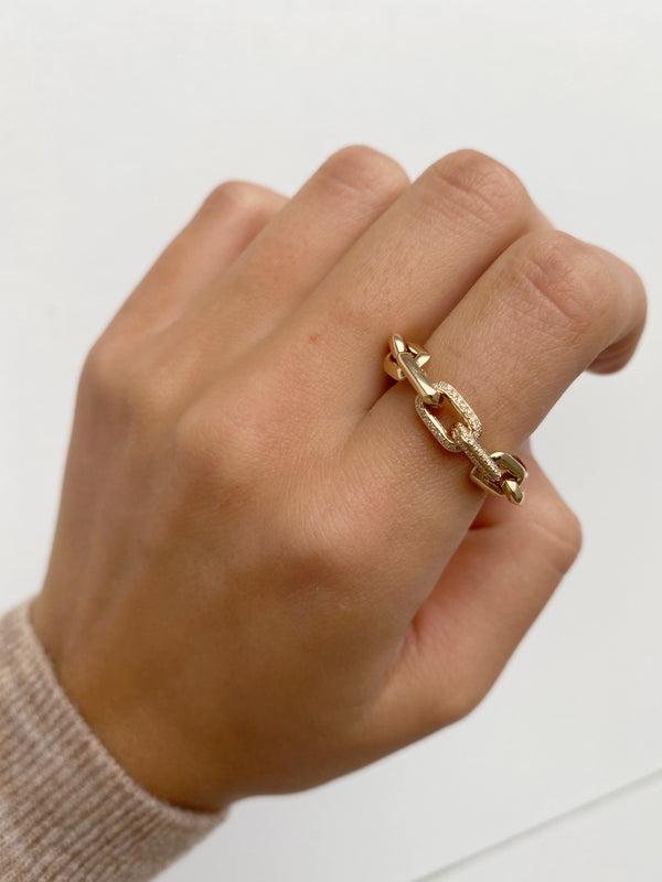 SHIRA Chain Linked Stacking Rings
