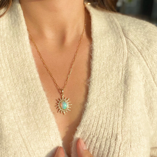 BROOKLYN Burst Necklace
