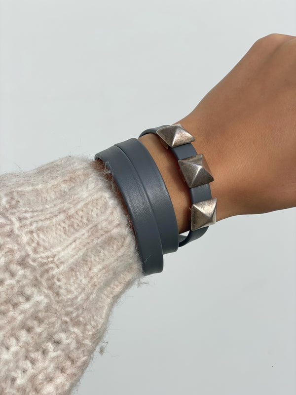 JANIE Wrap Leather Bracelets