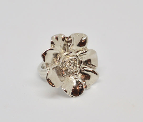LIAM double flower ring