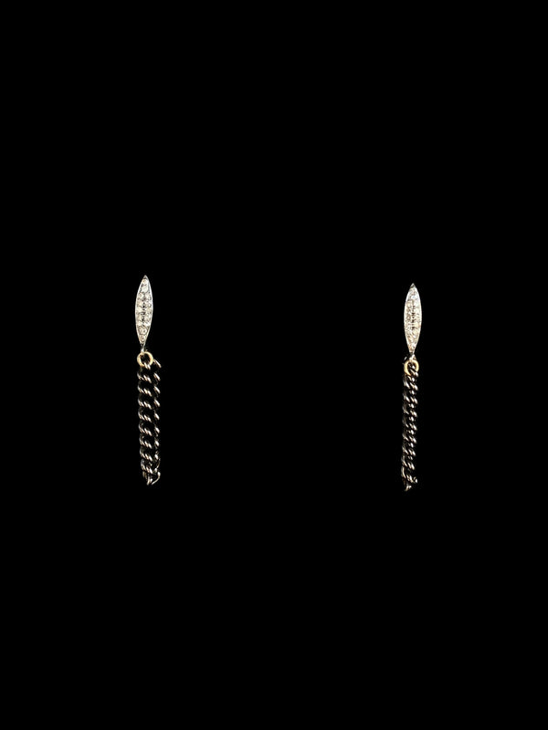 NOAH Chain Drop Earrings