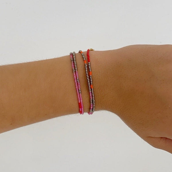 SALLY Beaded Wrap Bracelet