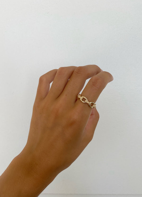 KYLIE CHAIN RING