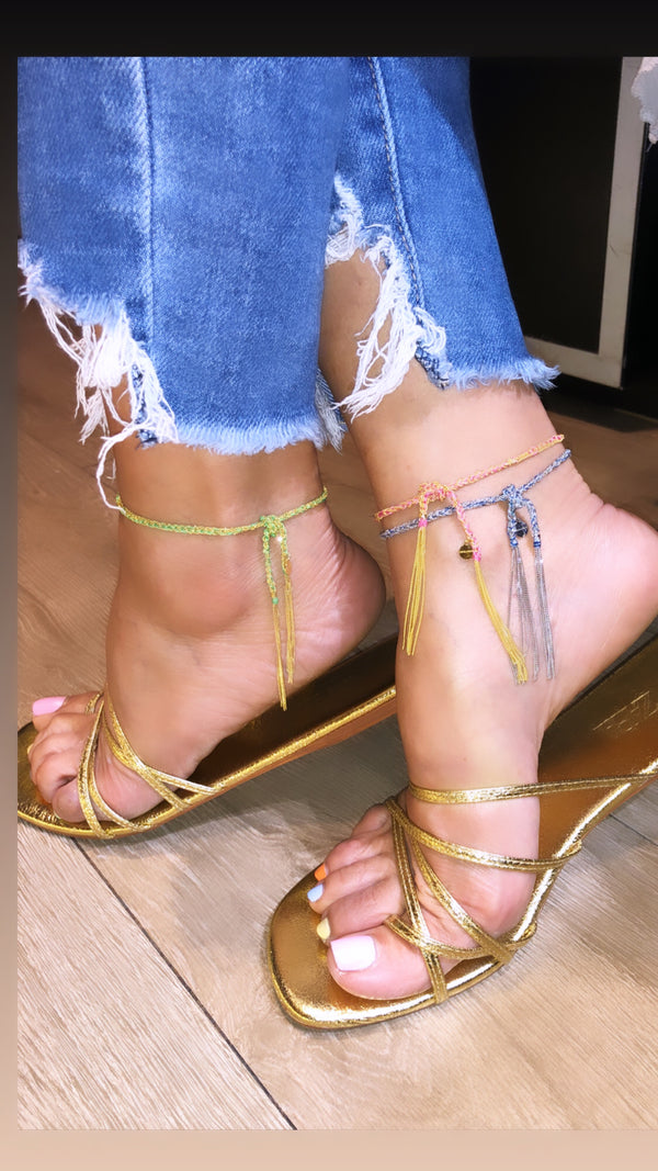 Woven Anklet