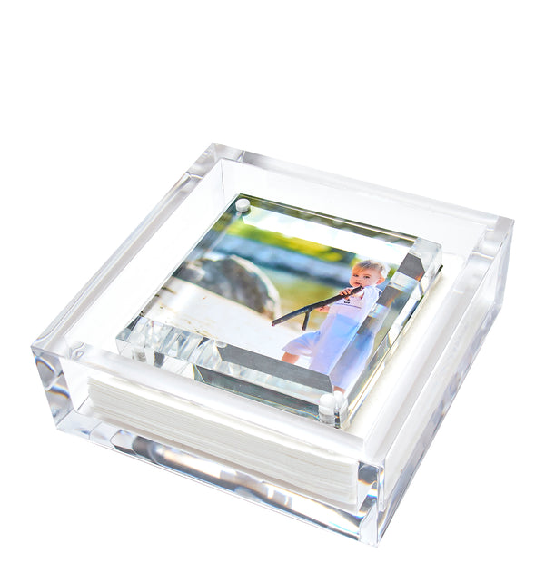 Cocktail napkin holder - photo weight