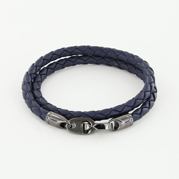Journey Double Wrap Leather Bracelet