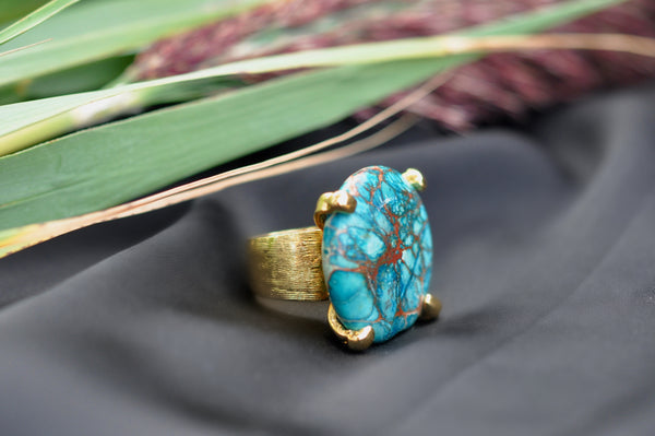 LIBBY Stone Statement Rings