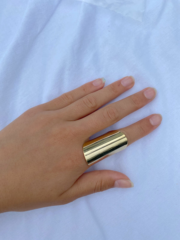 MAGGIE ADJUSTABLE RING - GOLD