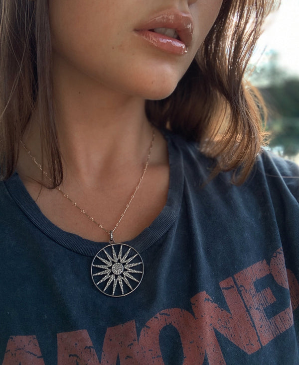 SKYLAR Pinwheel Burst Necklaces