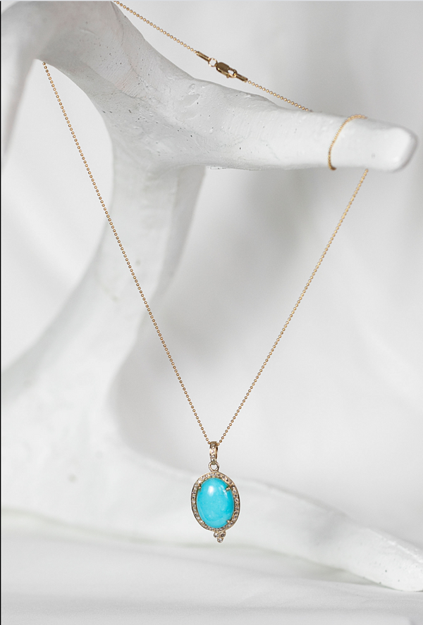 DIXIE Turquoise Stone Necklace