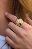 MARIAH Statement Ring - Gold