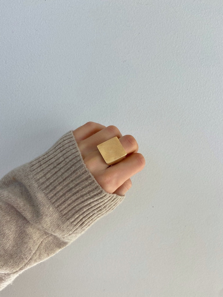 STELLA SQUARE 14k Ring