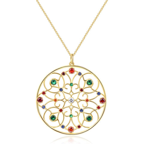 Brosway Cortino Necklace with Swarovski Elements Crystal Necklace