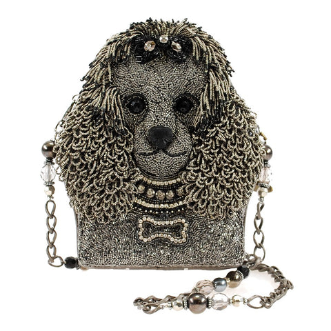 Lulu Beaded Poodle Handbag