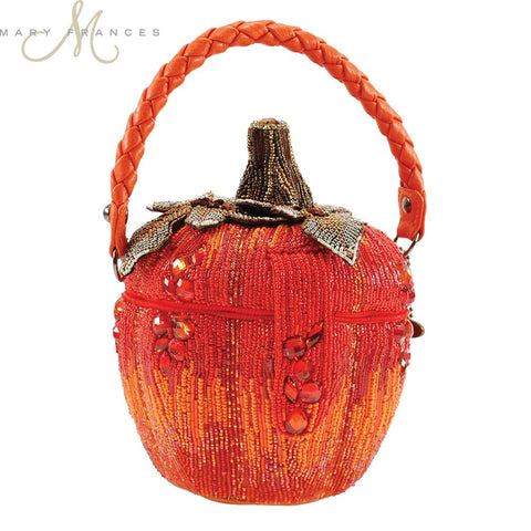 Mary Frances Smashing Pumpkins Bag