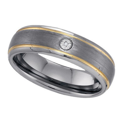 Giu Giu Jewelry Men's Tungsten Ring
