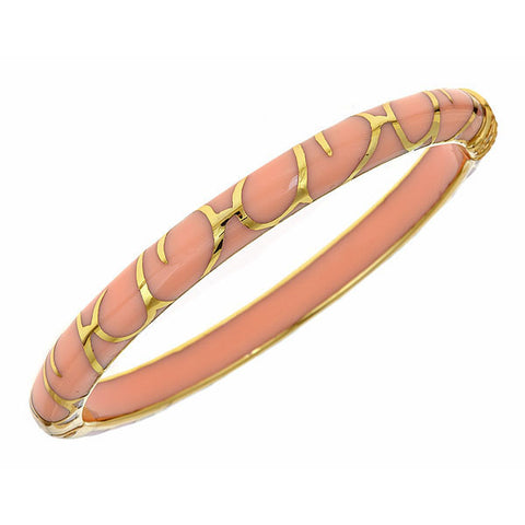 Cristina Sabatini CS Pink Bangle Bracelet - Giu Giu Boutique