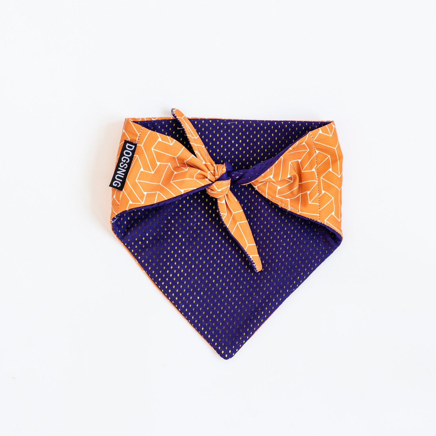 Cooling Dog Bandana Geometric Print