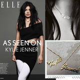 Name Necklace - Kylie Jenner
