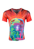 Nirvana Buddha unique daring tees diversity Online Clothing Stores Shopping Clothes Men Shop Fashion Designer Diofebi rock photo festival look vegan style yoga fitness nosweatshop ethical tattoo London pride Madonna kylie rihanna mya spicegirls rupaul dragqueen lgbt transgender tapes music model photoshoot dope fresh