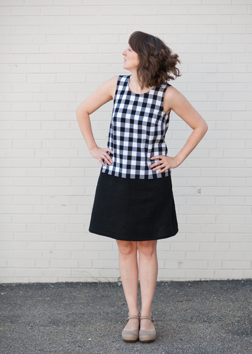 Grainline Studio Willow Tank Dress - Spool Fabric Shop | Pittsburgh