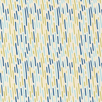 Cloud9 Rain Walk Organic Cotton - Drizzle in Blue