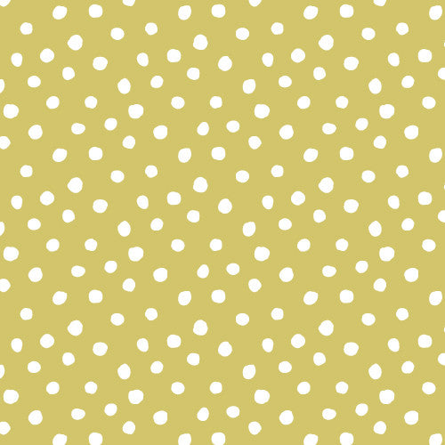 Cloud9 Organic Cotton Knit - Citron Spots