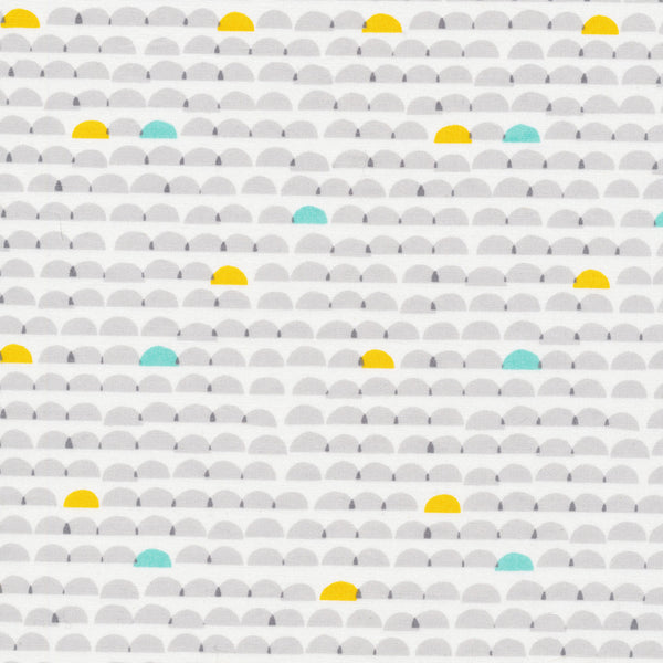 Glint Collection Dawn Organic fabric in Gray from Cloud9- Spool Pittsburgh