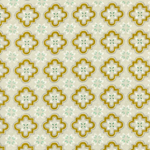 Honeymoon Porch Tile in Mustard