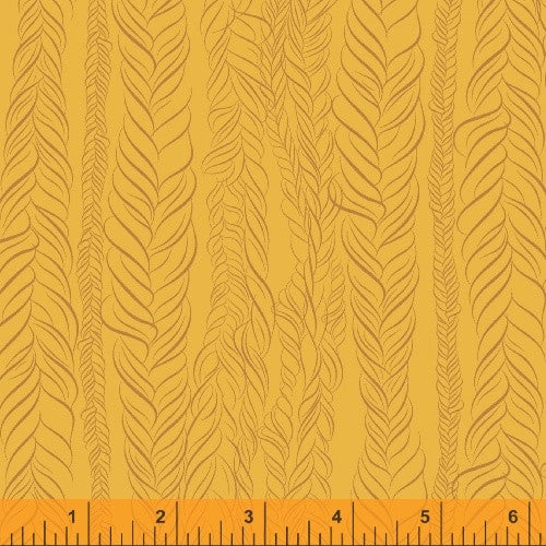 Braid fabric from Kim Andersson's Good Hair Day collection - Spool Pittsburgh