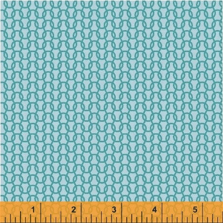 Uppercase Knitted Fabric in Turquoise - Spool Pittsburgh