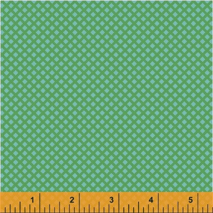 Uppercase Fabric Waffle in Turquoise Green - Spool Pittsburgh