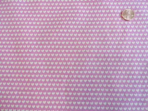 The Tinies Canvas - Tiny Hearts Pink