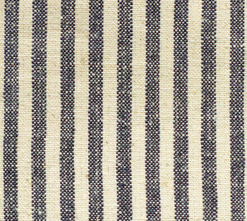 Indigo Hemp/Organic Cotton Stripe
