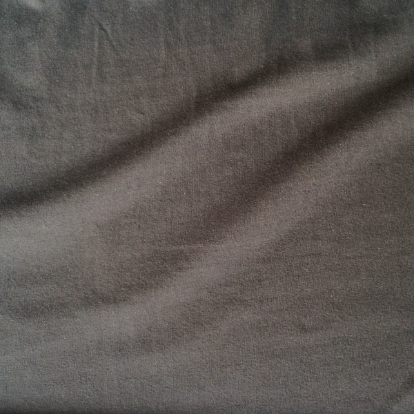 Dark Slate Grey/Brown Knit Cotton Jersey at Spool fabric shopPittsburgh