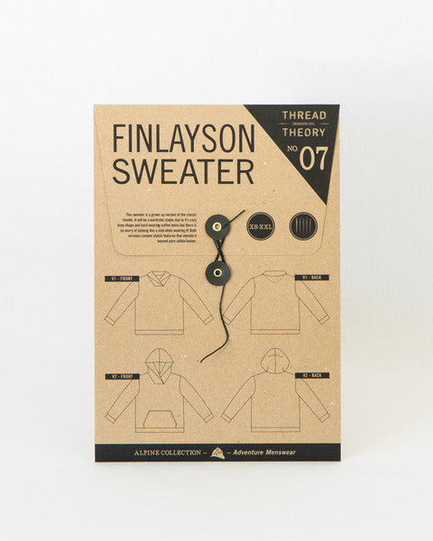Thread Theory Men's Finlayson Sweater Sewing Pattern