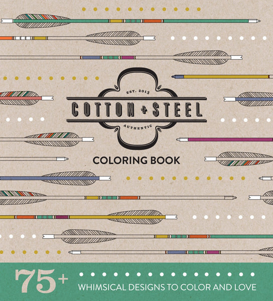 Cotton+Steel Coloring Book