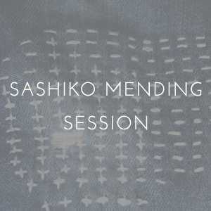 Sashiko Visible Mending