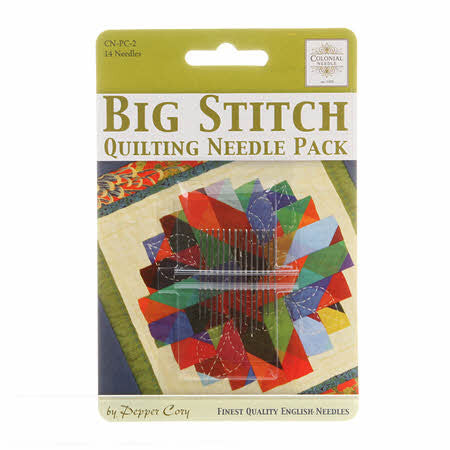 Big Stitch Quilting Needle Pack