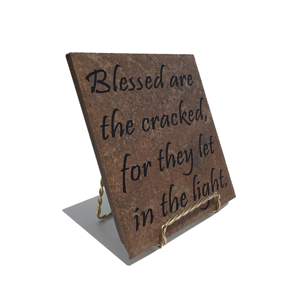 "Blessed - 6"" Tile"