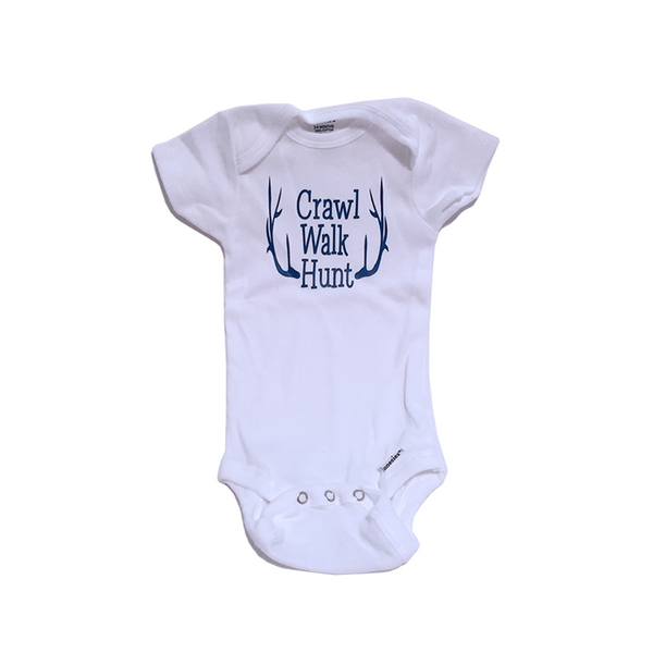 Crawl, Walk, Hunt Onesie