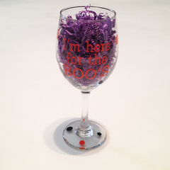 Boo's Wine Glass