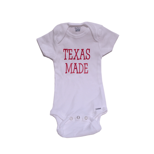 Texas Made Onesie