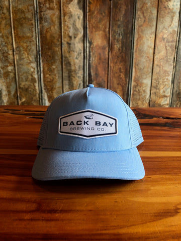 Light Blue Athletic Mesh Hat