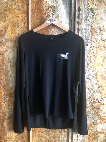 Women's Long Sleeve Shirt - Black